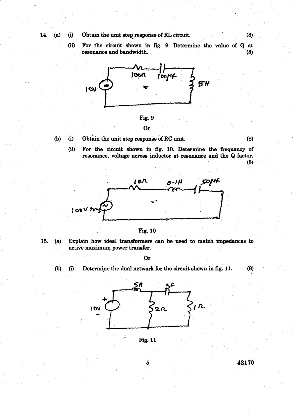 What Is Transmission >> ANNA UNIVERSITY QUESTION BANK: CIRCUIT ANALYSIS