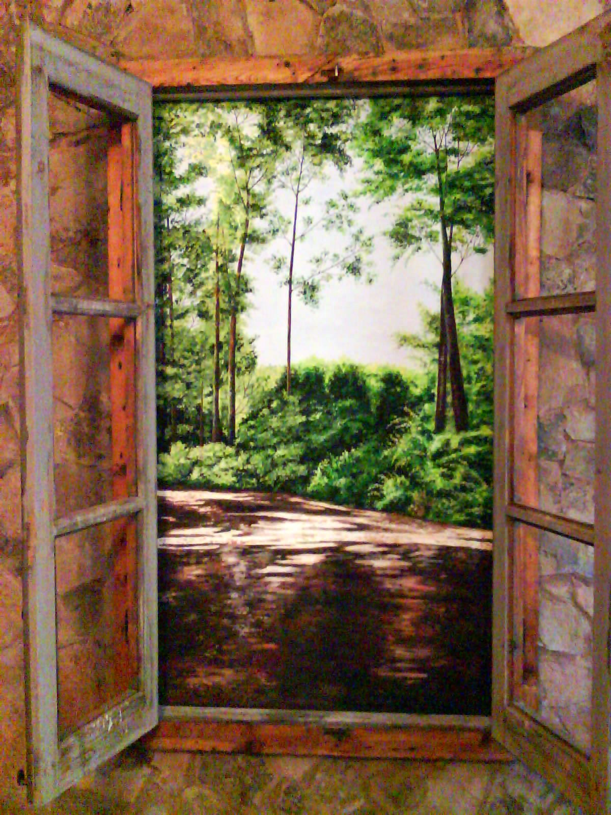 Creaciones sancho pintura for Pintura para marcos de puertas y ventanas
