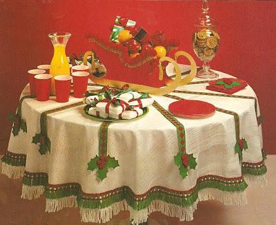 Manualidades Manteles Para Navidad.Mis Revistas De Manualidades Manteles De Navidad