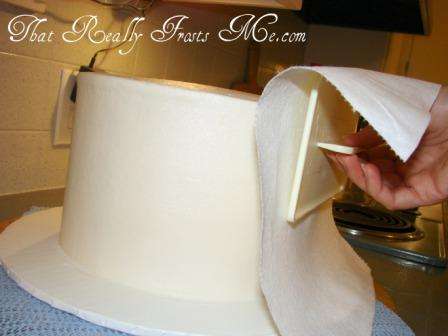Smooth Cake Frosting Paper Towel