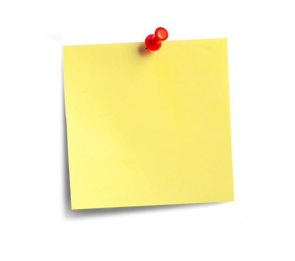 tickertext: A few post-its for backgrounds