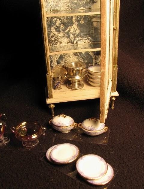 Minworks Dining Room Display Cases