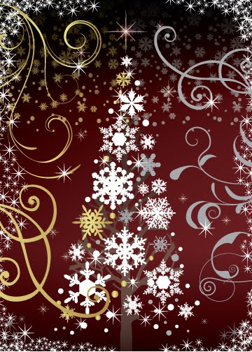 Paulo Viveiros Burgundy And Gold Christmas Designs
