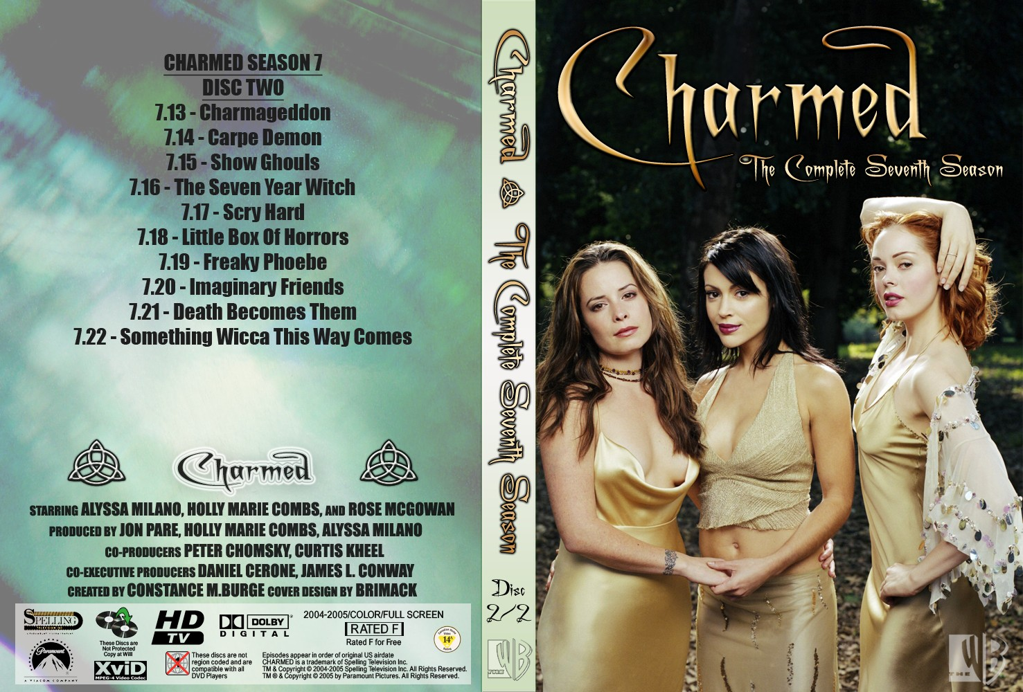 Make Download Like a Heaven: CHARMED SEASON 1 - 8 (COMPLETE