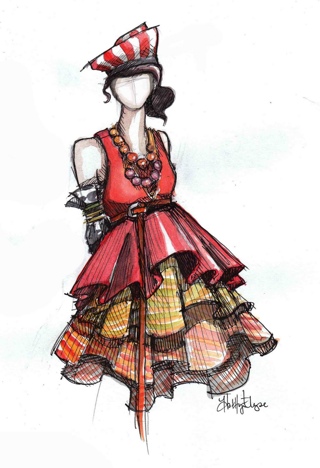Night Owl News: Fashion Illustration