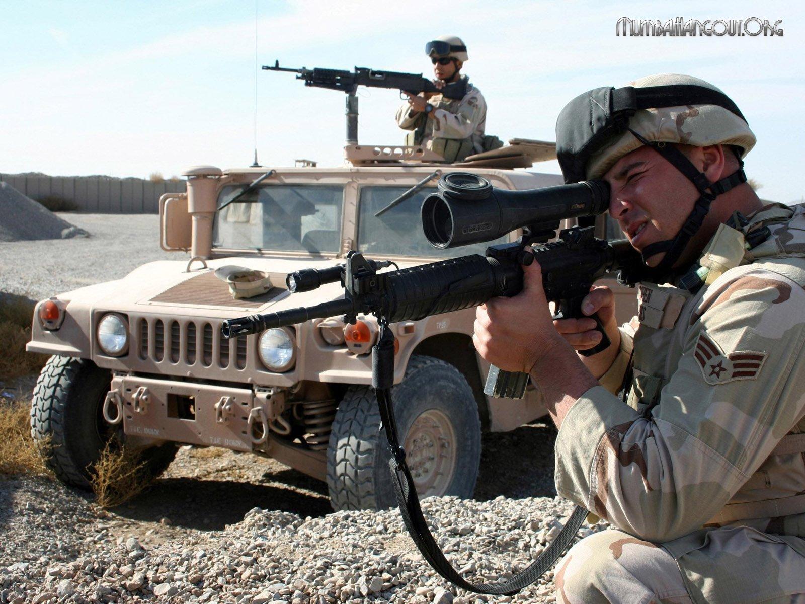 Wallpaper Teknologi 3d Gambar Gambar Tentara Keren Wallpaper Militer