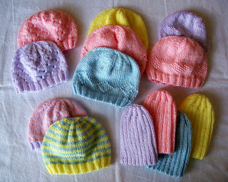 Carissa Knits  Preemie Hats for Charity 83897c8a9ae