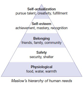 NAMC montessori prepared environment maslow's hierarchy of human needs