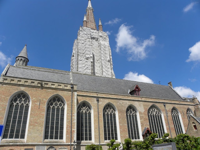 Church of Our Lady OLV kerk Brugge