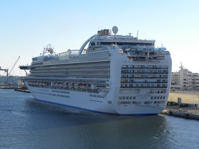 Port Everglades Crown Princess