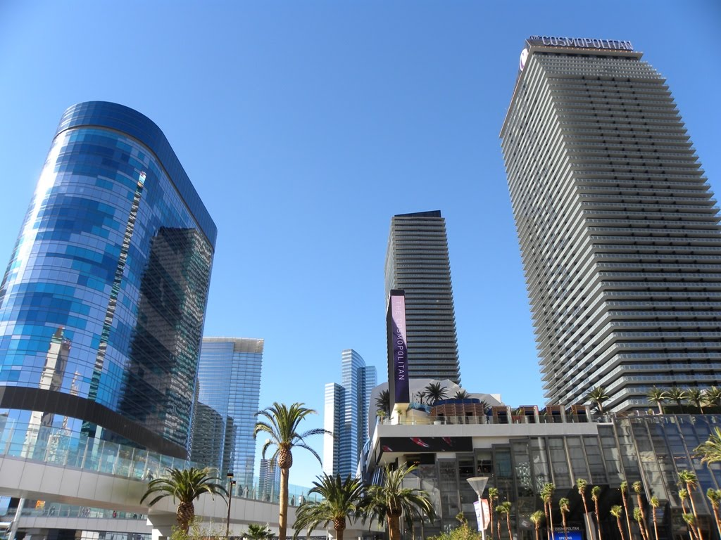 Las Vegas City Center And Aria Resort