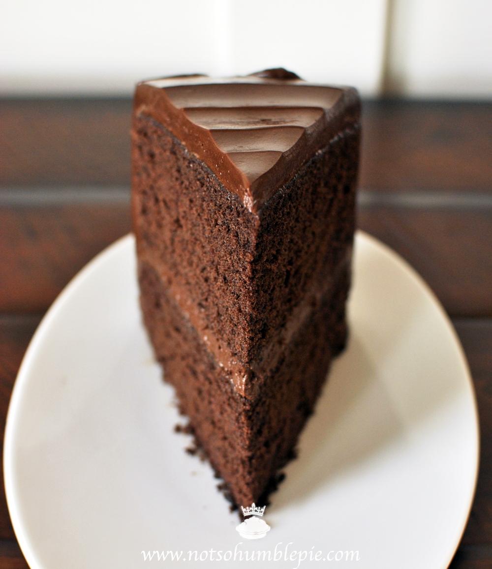 Not So Humble Pie Big Chocolate Cake