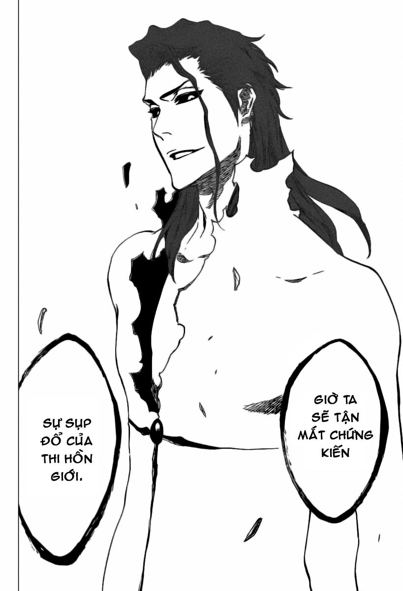 Bleach chapter 406 trang 16