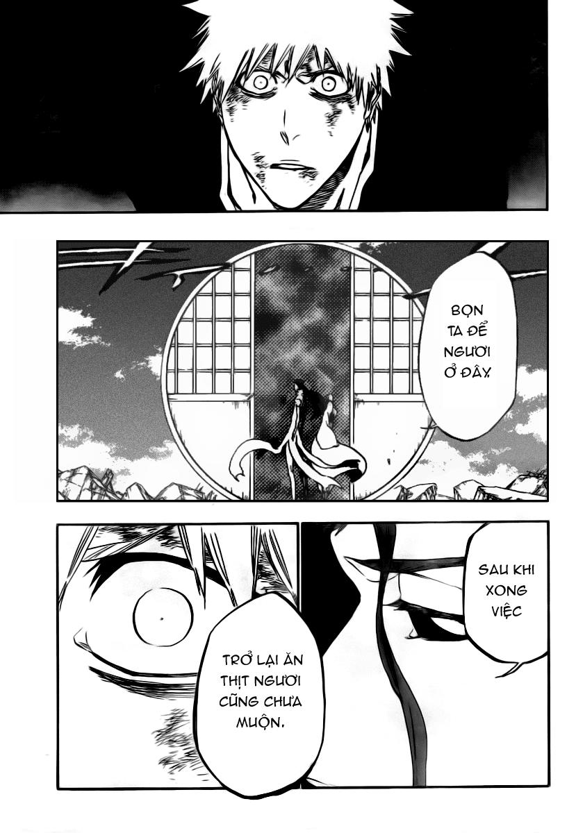 Bleach chapter 406 trang 17