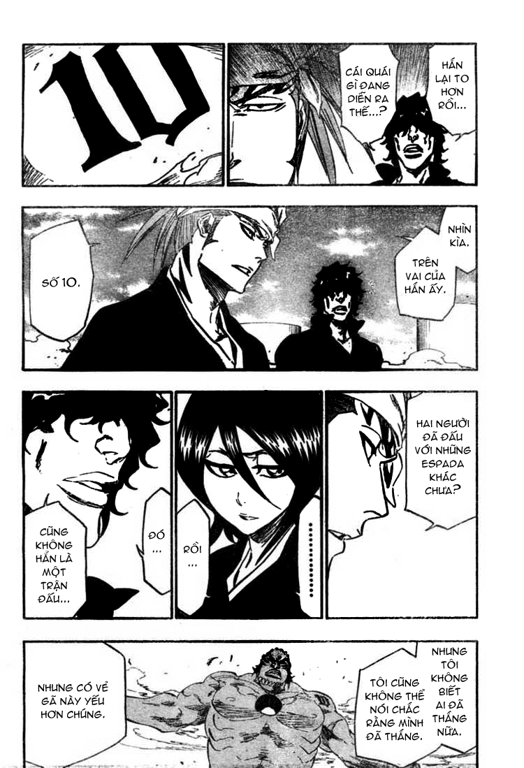 Bleach chapter 354 trang 10