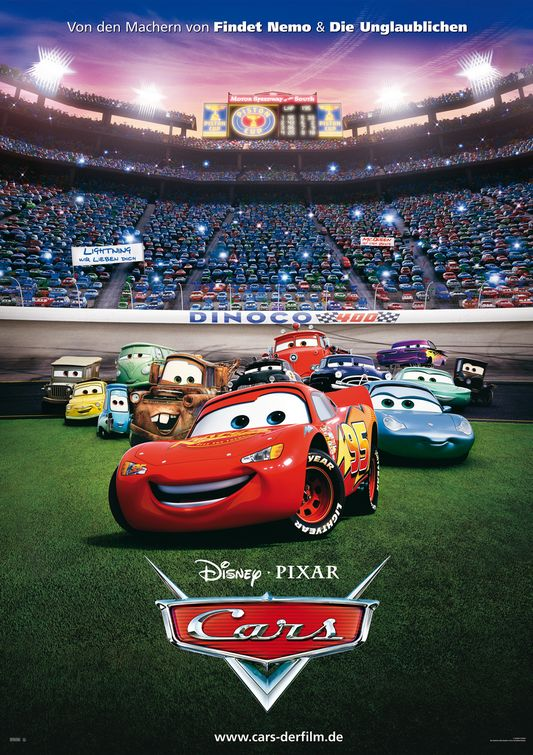 cars 2006 motori ruggenti pixar poster disney characters posters mcqueen race carros lightning background cast movies mater scenes latino wilson