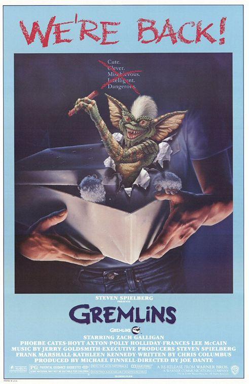 Vagebond's Movie ScreenShots: Gremlins (1984)