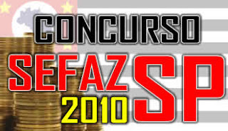Concurso SEFAZ SP 2010 - Apostilas (Conteudo Programatico)