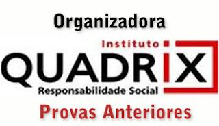 Organizadora Quadrix - Provas Anteriores para download