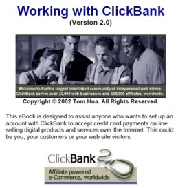 working with clickbank