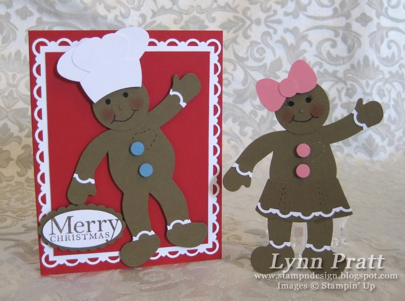 Stamp-n-Design: Gingerbread House Gift Box & Card