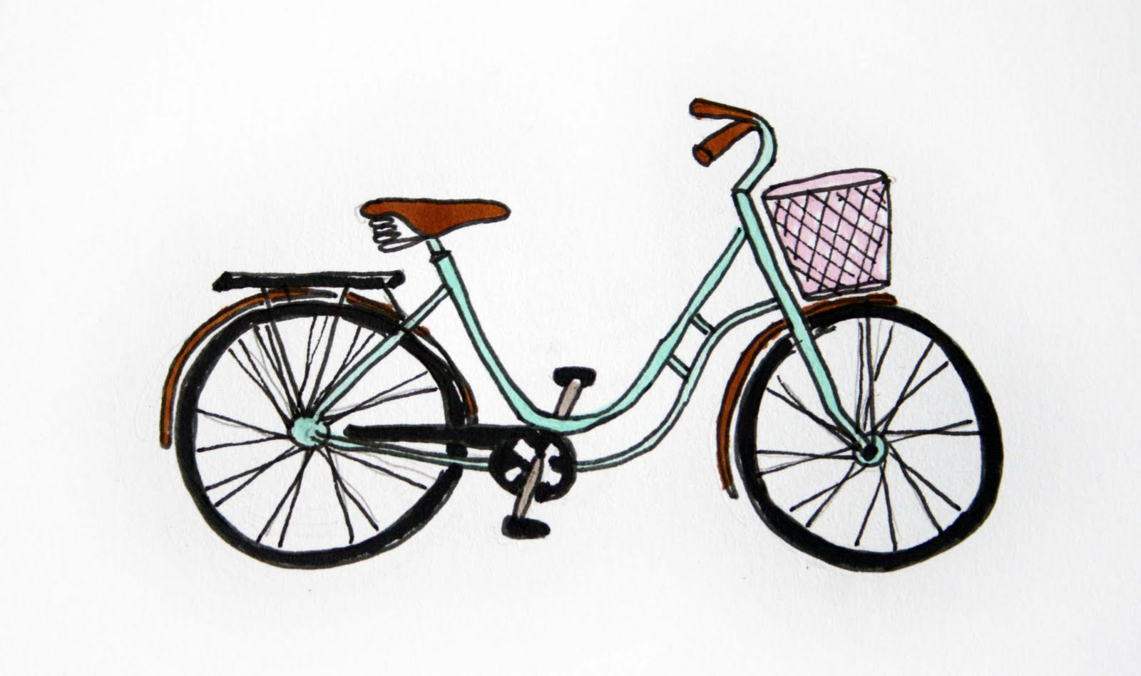 cykel pige 6 år