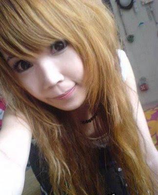 Emo asian girl