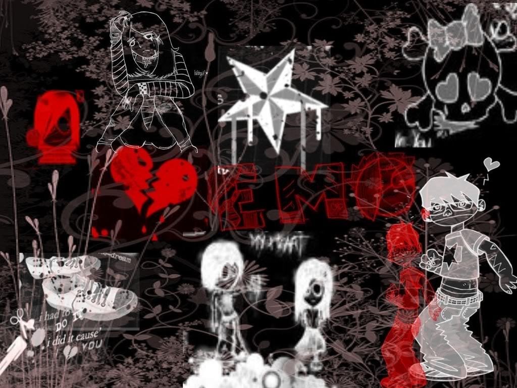 50 Wallpaper Emo Keren Cewek Dan Cowok