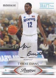 Tyreke Evans Rookie RC Cards
