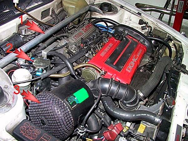 4G63T VR4 Differentiation - BEN9166