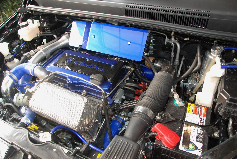 Modifikasi Proton Iswara Saga Engine Show Turbo 4g13 4g15