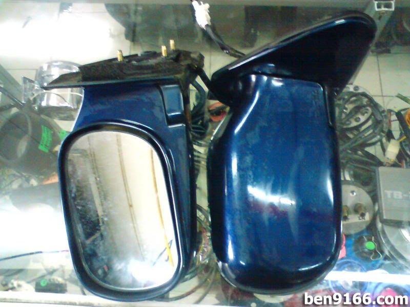 DIY Daihatsu Mira L200/L200s Side Mirror Wiring - BEN9166