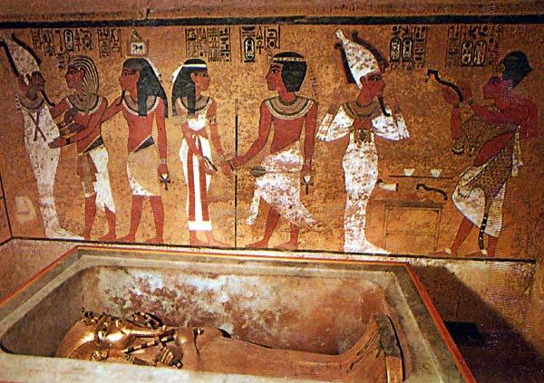 Resultado de imagen de como embalsamaban en egipto
