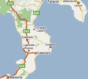 Cartina Geografica Cosenza E Provincia.Cartina Geografica Laboratorio Digitale