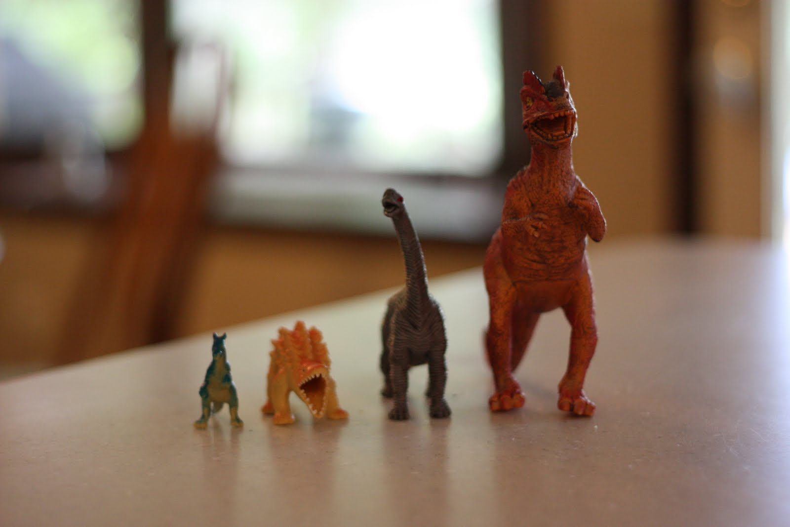 Biggest To Smallest With Dinosaurs And Footprints Too