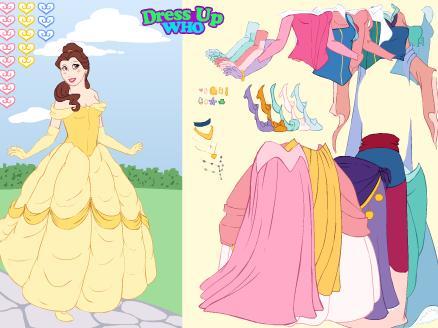 Vestir A Las Princesas De Disney Juegos De Vestir