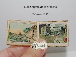 Don Quijote libro miniatura - minibook