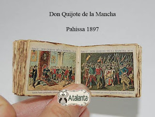 Don Quijote libro miniatura - mini book