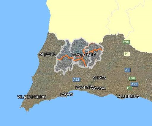 serra de monchique mapa SAFEPLACE52: Mato de 3 Metros Complica Combate a Incendios em  serra de monchique mapa