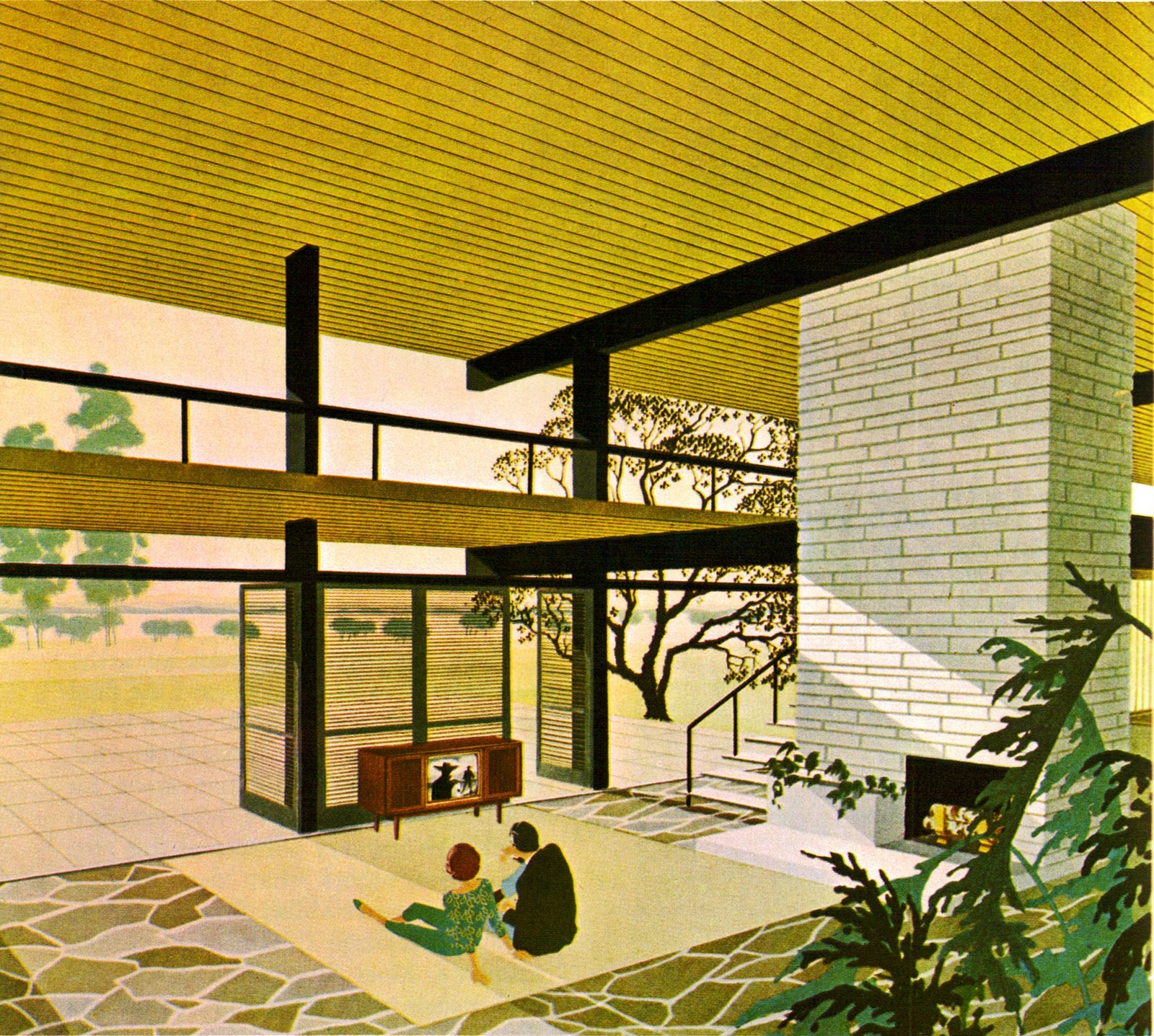 Century Modern: Braxton And Yancey: Mid-Century Illustrative Art