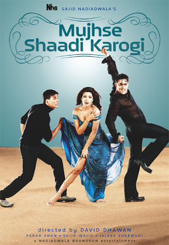 Mujhse Shaadi Karogi (2004) Movie Poster
