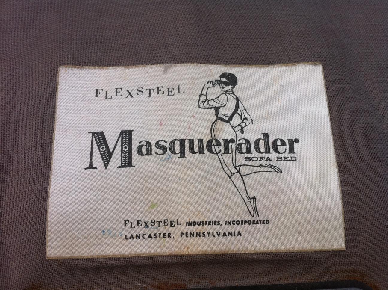 Junk2funk 1940 S Masquerader Sofa Bed By Flexsteel
