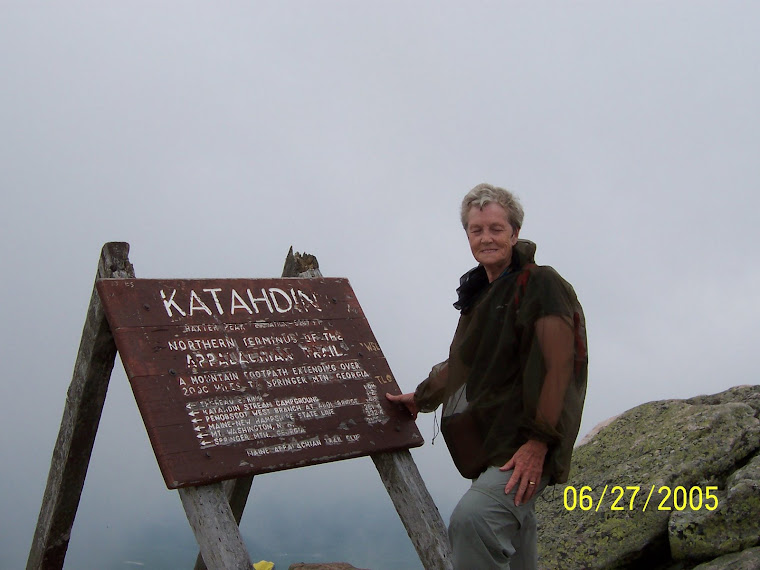 Sherry at Katahdin