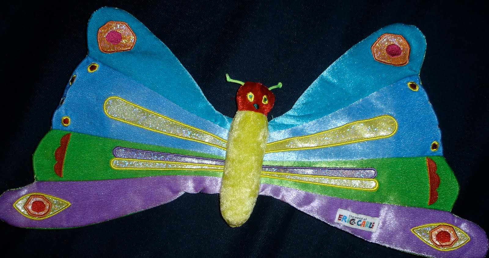 Move Create Educate Butterfly Body Parts
