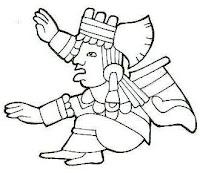 Dancing Blender: Mayan Man and Woman Design