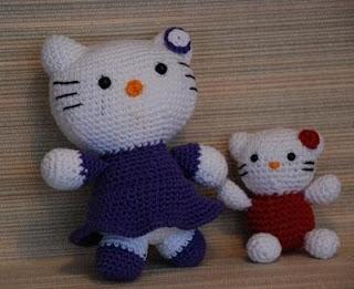 Amigurumis Tejiendo con Chico: Hello Kitty 2 | 261x320
