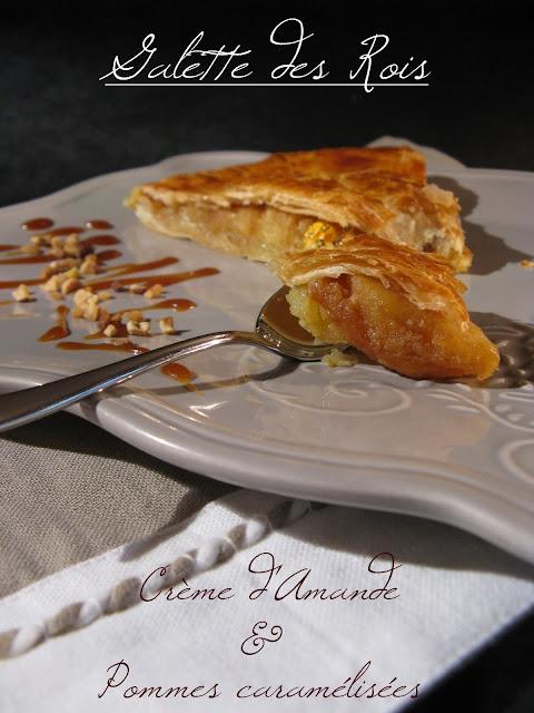 Galette Des Rois Creme D Amande Pommes Caramelisees Pate