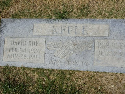 DAVID RUE KEELE HEADSTONE