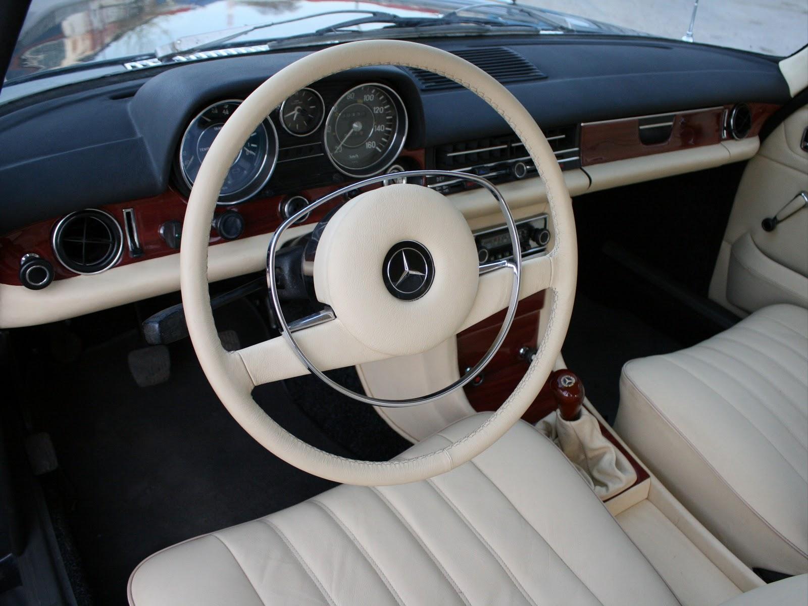 hight resolution of mercedes w115 interior