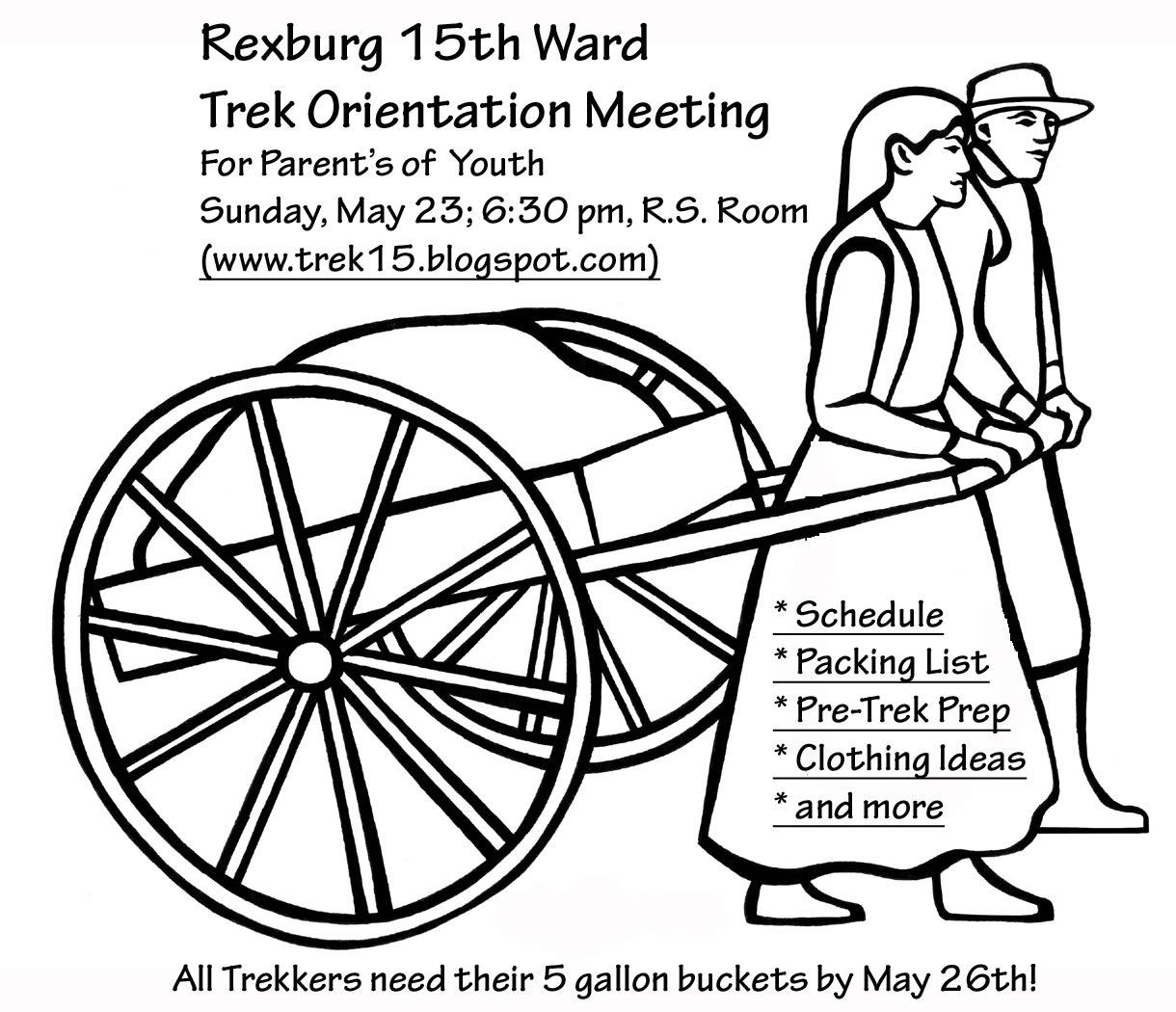 Rexburg 15th Ward Trek, 2014: May 2010